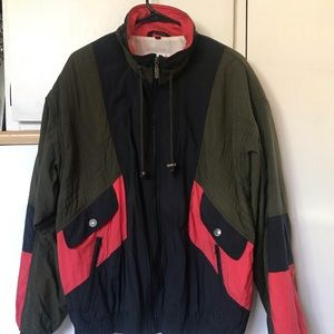 VTG Head Sportswear Windbreaker Jacket Colorblock